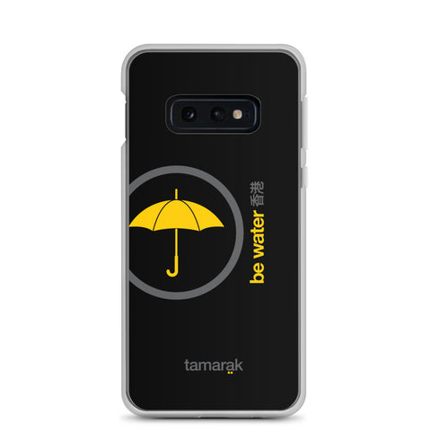 be water | black edition 003 | Samsung case