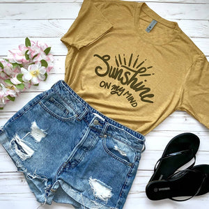 Sunshine On My Mind Tee