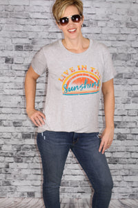 """Live In The Sunshine"" Graphic Tee"