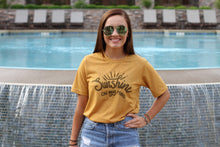 Load image into Gallery viewer, Sunshine On My Mind Tee