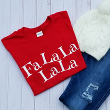 Load image into Gallery viewer, FaLaLaLaLa Long Sleeve Tee