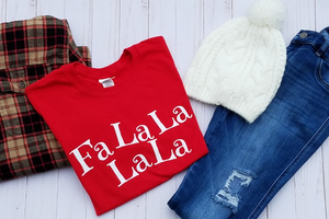 FaLaLaLaLa Long Sleeve Tee
