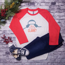 Load image into Gallery viewer, You Serious Clark - Christmas Reglan Tee