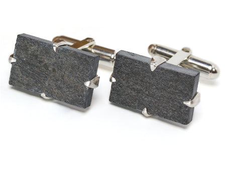 Churchill Downs Slate Cuff Links by Tokens &amp Icons