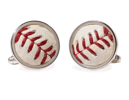 Baseball Cuff Links