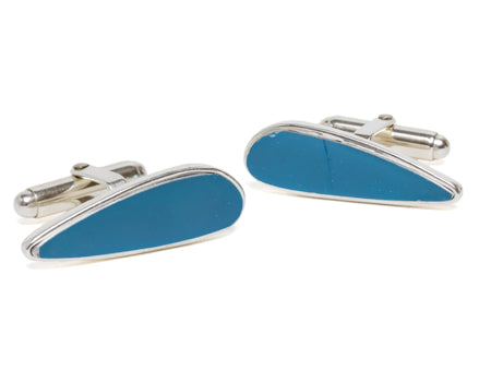 Pan American Wing Rib Cuff Links