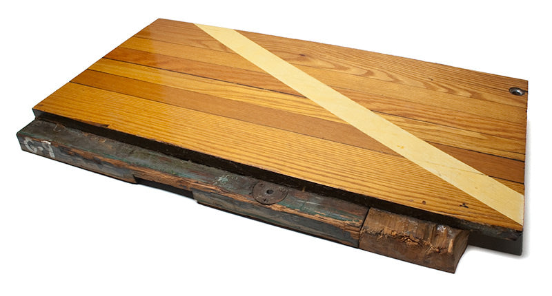Boston Garden Basketball Floor Wood