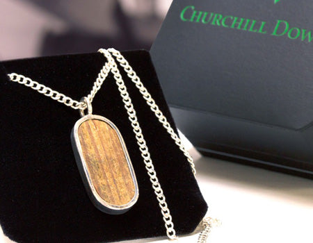 Churchill Downs Paddock Pendant by Tokens &amp Icons