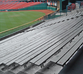 Old Busch Bleacher Wood
