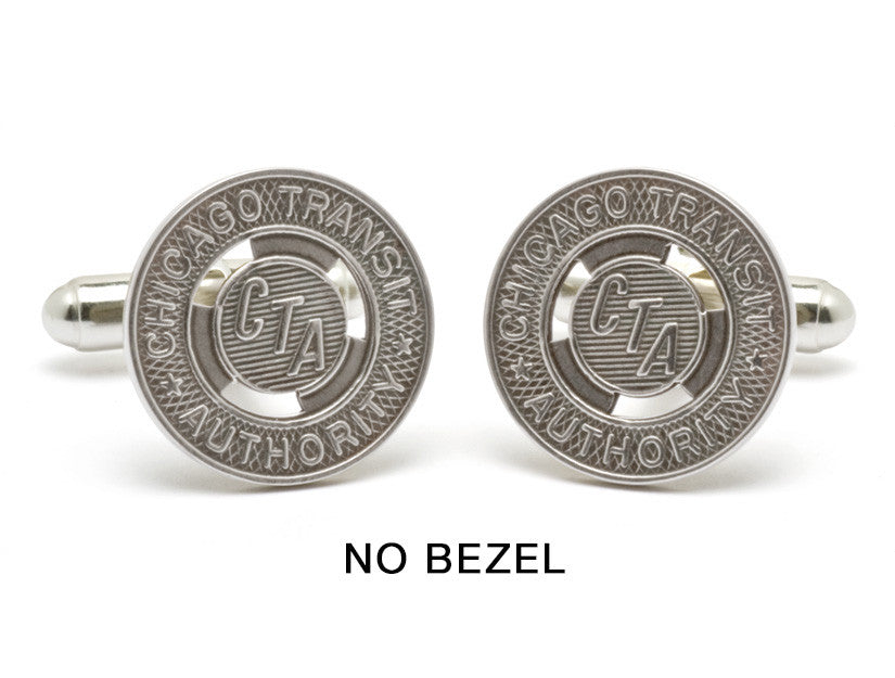Antique Chicago Transit Token Cuff Links by Tokens & Icons