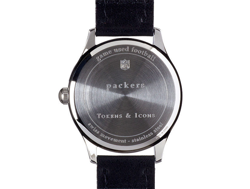 Green Bay Packers Game Used Football Watch