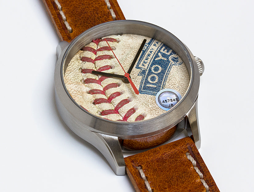 Boston Red Sox Game Used Baseball Watch - Fenway 100 Year Commemorative