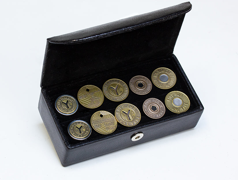New York Transit Token Cuff Links Collector's Set