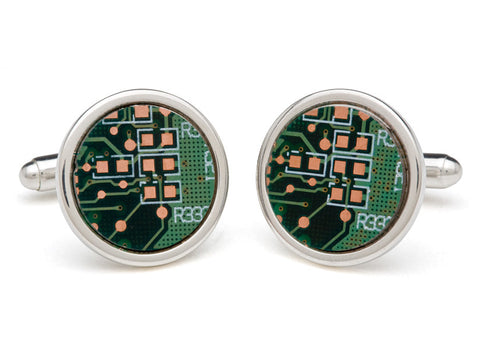 Motherboard Cuff Links by Tokens & Icons