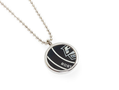 St. Louis Blues Game Used Puck Round Pendant - 2019 Stanley Cup Final