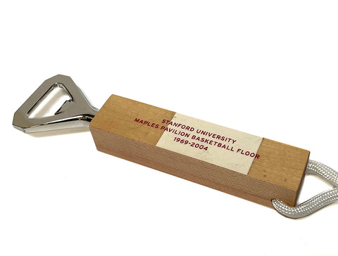 Stanford's Maples Pavilion Floor Bottle Opener-2 Tone