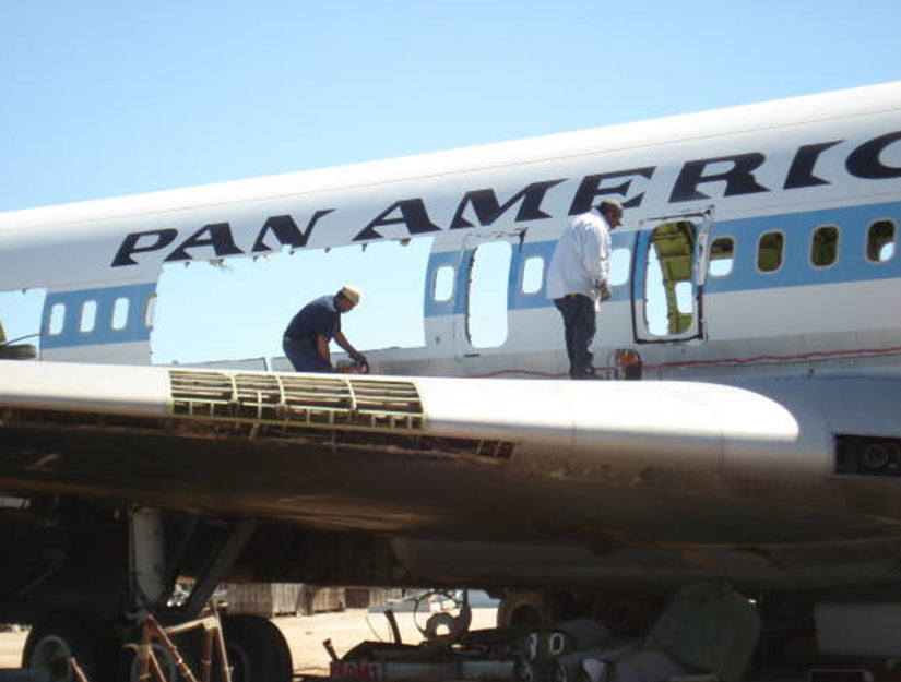 Pan American Boeing 707 Collectable Fuselage Sections