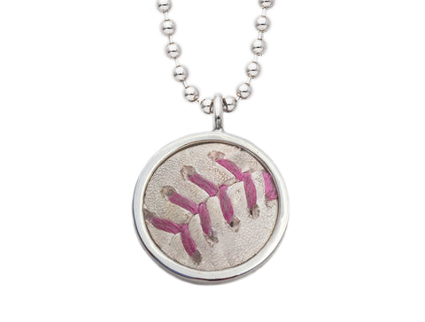 New York Yankees Mother's Day Game Used Baseball Pendant