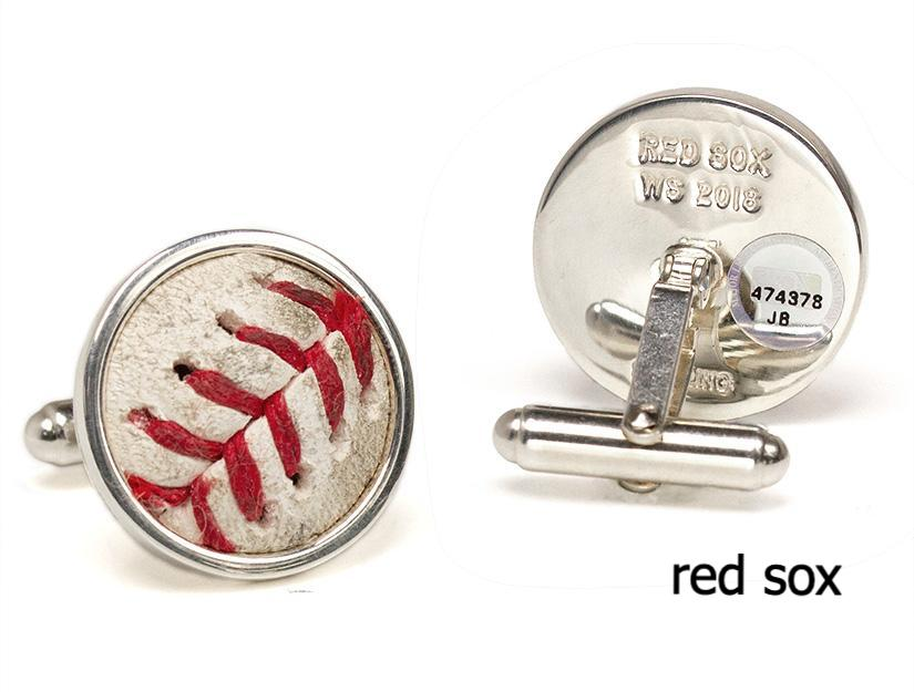 World Series Collection - Game Used Baseball Cuff Links