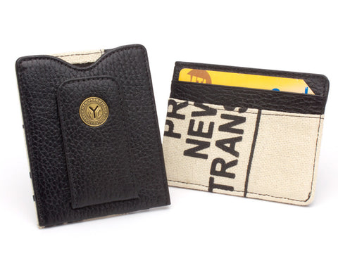 New York Transit Token and Bag Money Clip Wallet by Tokens & Icons