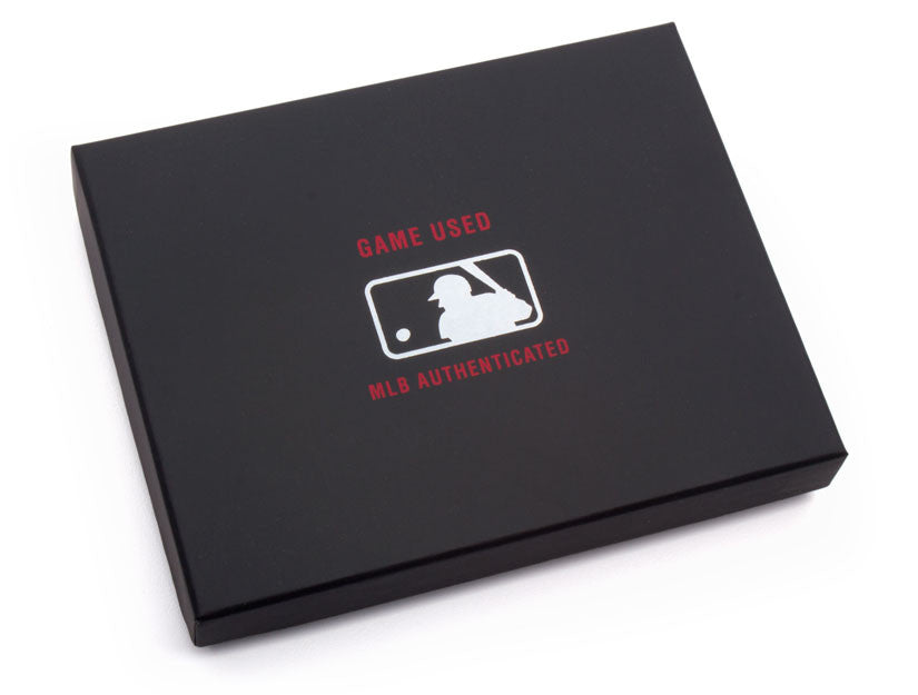 MLB Authenticated  Game Used Uniform Wallet Box by Tokens & Icons
