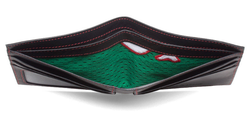 Boston Red Sox Game Used St. Patrick's Day Uniform Wallet