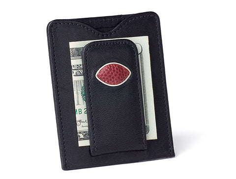 Sale! Game Used Football Money Clip Wallets