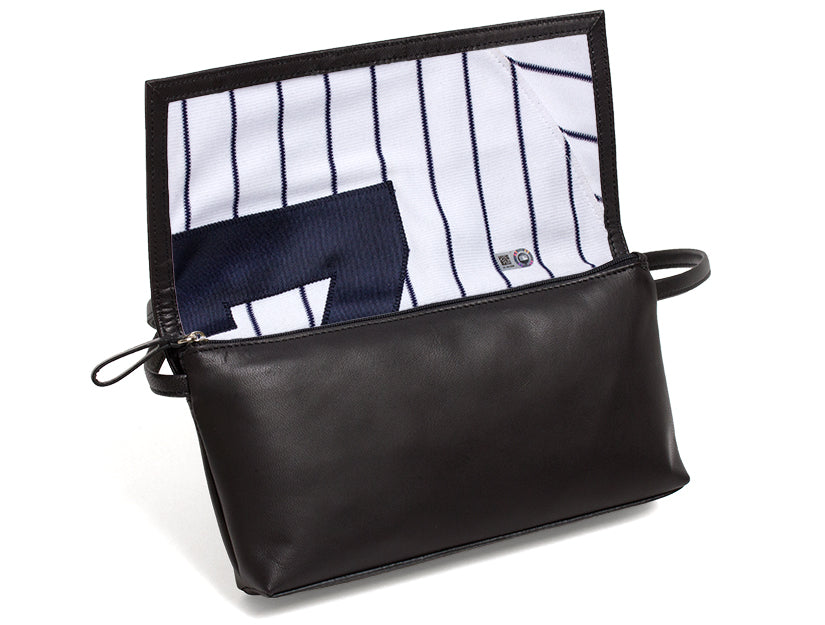 New York Yankees Game Used Uniform Purse