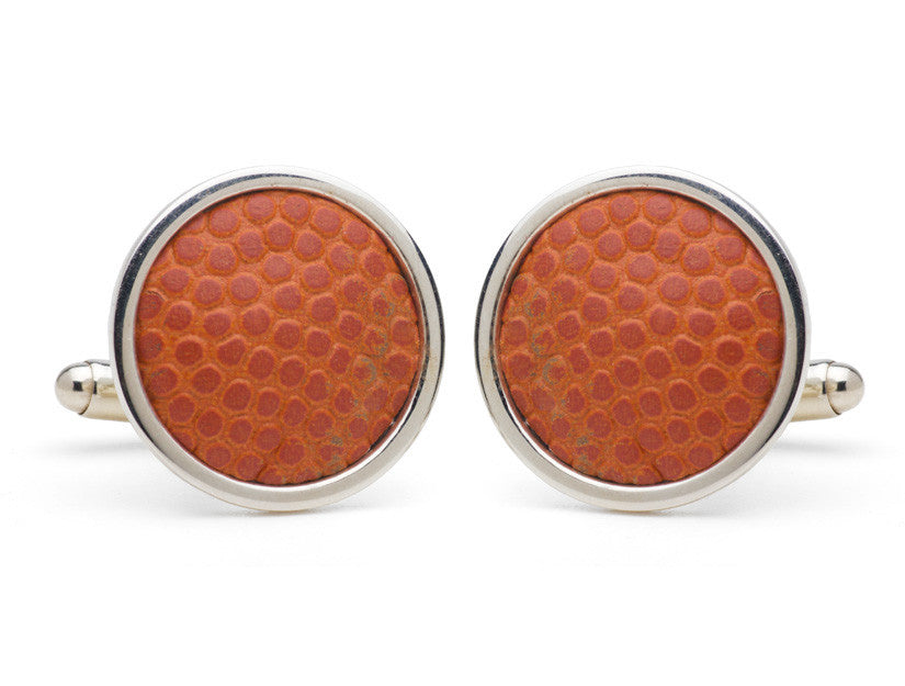 Tokens and Icons Madison Square Garden Basketball Court Cufflinks