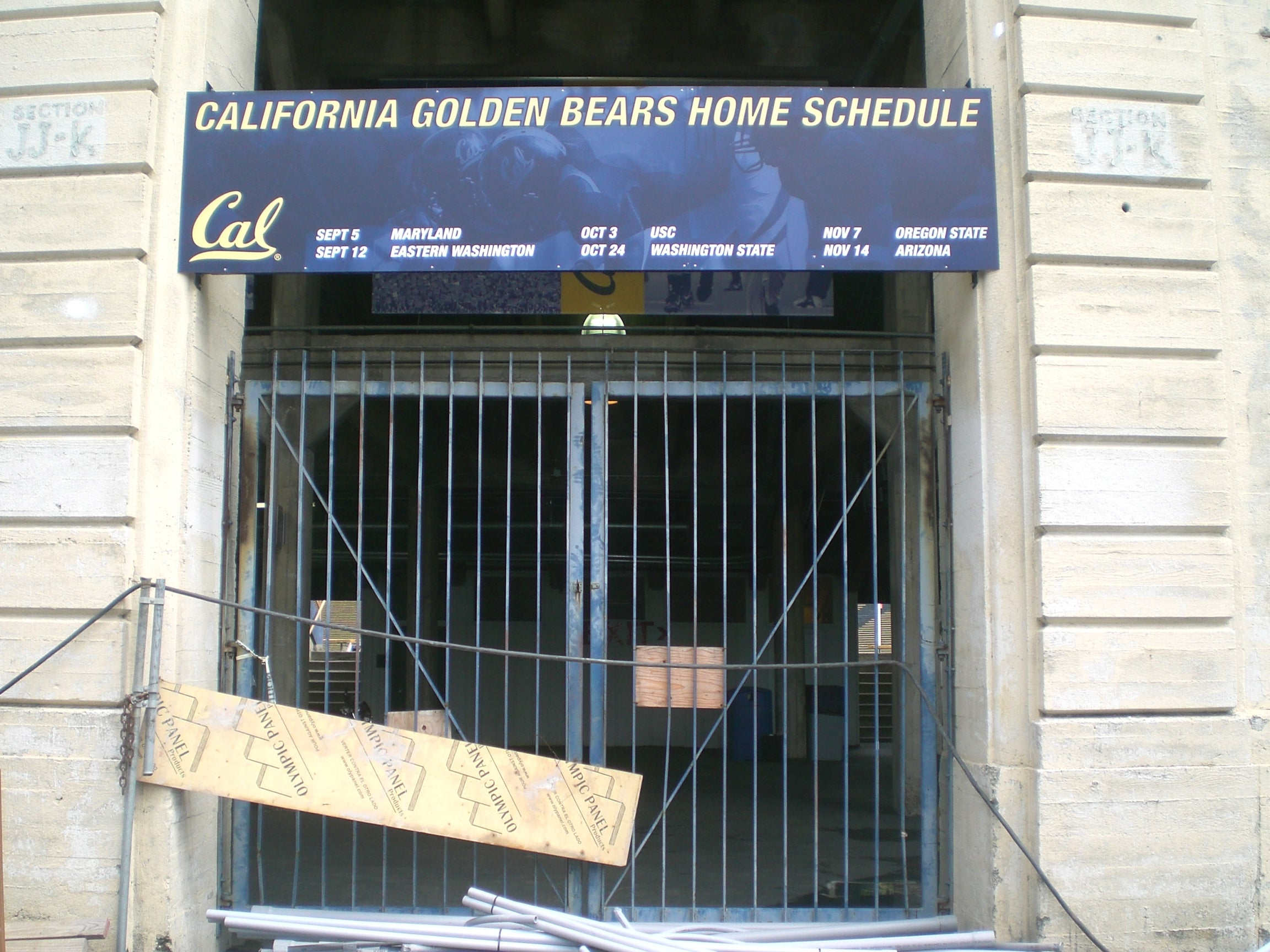 UC Berkeley's California Memorial Stadium Gate Conference Table
