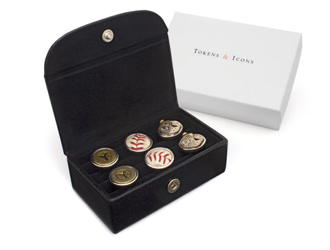 Cuff Links Case - 3 Pair