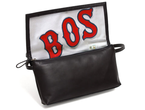 Boston Red Sox Game Used Uniform Purse