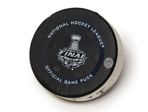 Tampa Bay Lightning 2020 Stanley Cup Final Deciding Game Puck Cuff Links - Preorder Event