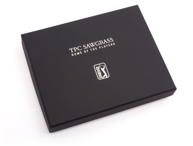 PGA TOUR TPC Sawgrass Wallet Box by Tokens & Icons