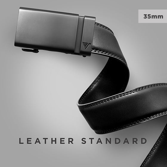 Standard sized Mission Belt - Click to view the standard leather 35mm Mission Belt collection