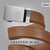 Brown Wide Leather Mission Belt - Click to see Leather Wide 40mm Mission Belt collection