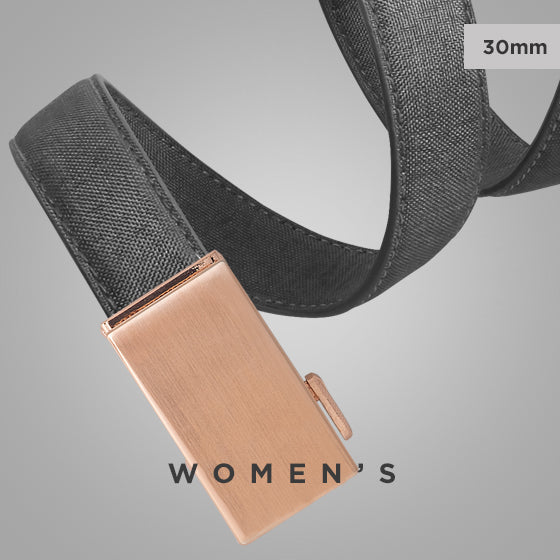women's canvas belt - click to view women's 30mm Mission Belt collection