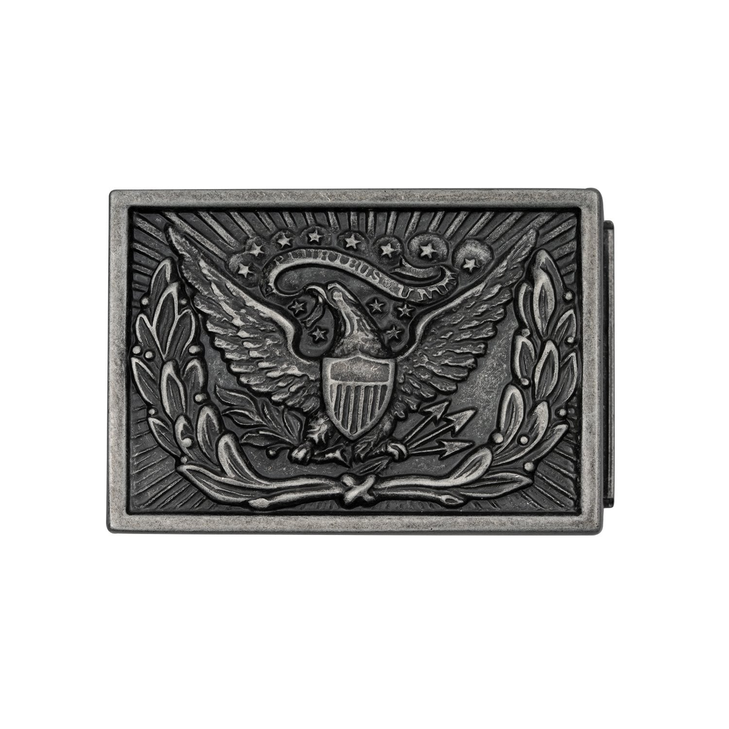 Mission Belt Buckle with an Eagle