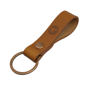 Italian Leather Key Fob