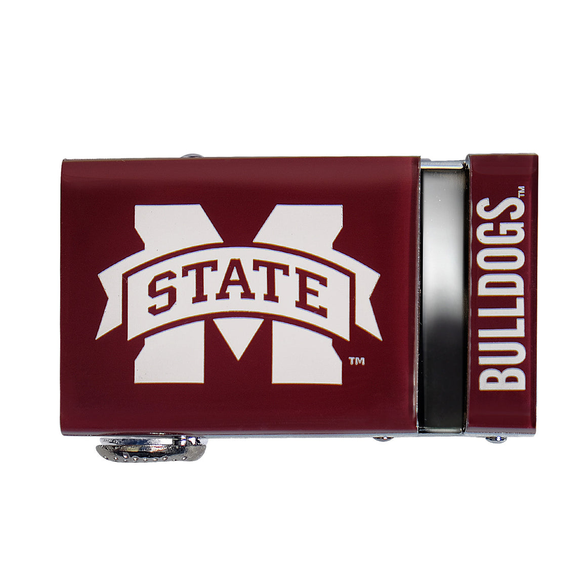 Mississippi State Bulldogs 40mm Buckle