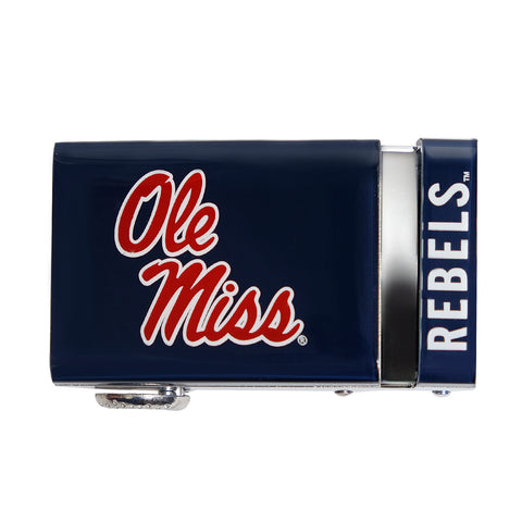 Mississippi Ole Miss 40mm Buckle