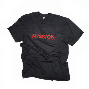 Mission Shirt, Black / Red