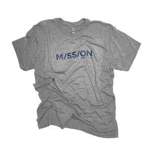 Mission Shirt, Gray / Blue