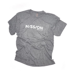 Mission Shirt, Gray / White