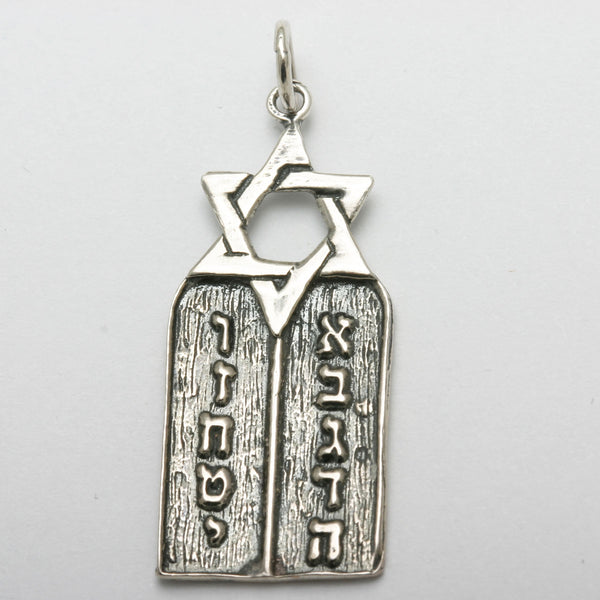 Ten Commandments / Torah Jewelry