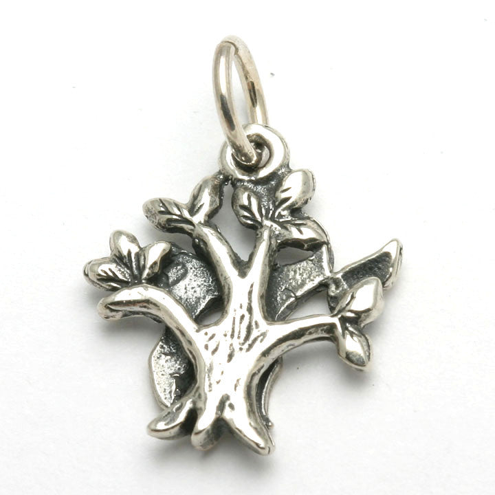 Tree of Life Pendant Sterling Silver 925 Oxidized Jewelry Product Height 23 mm