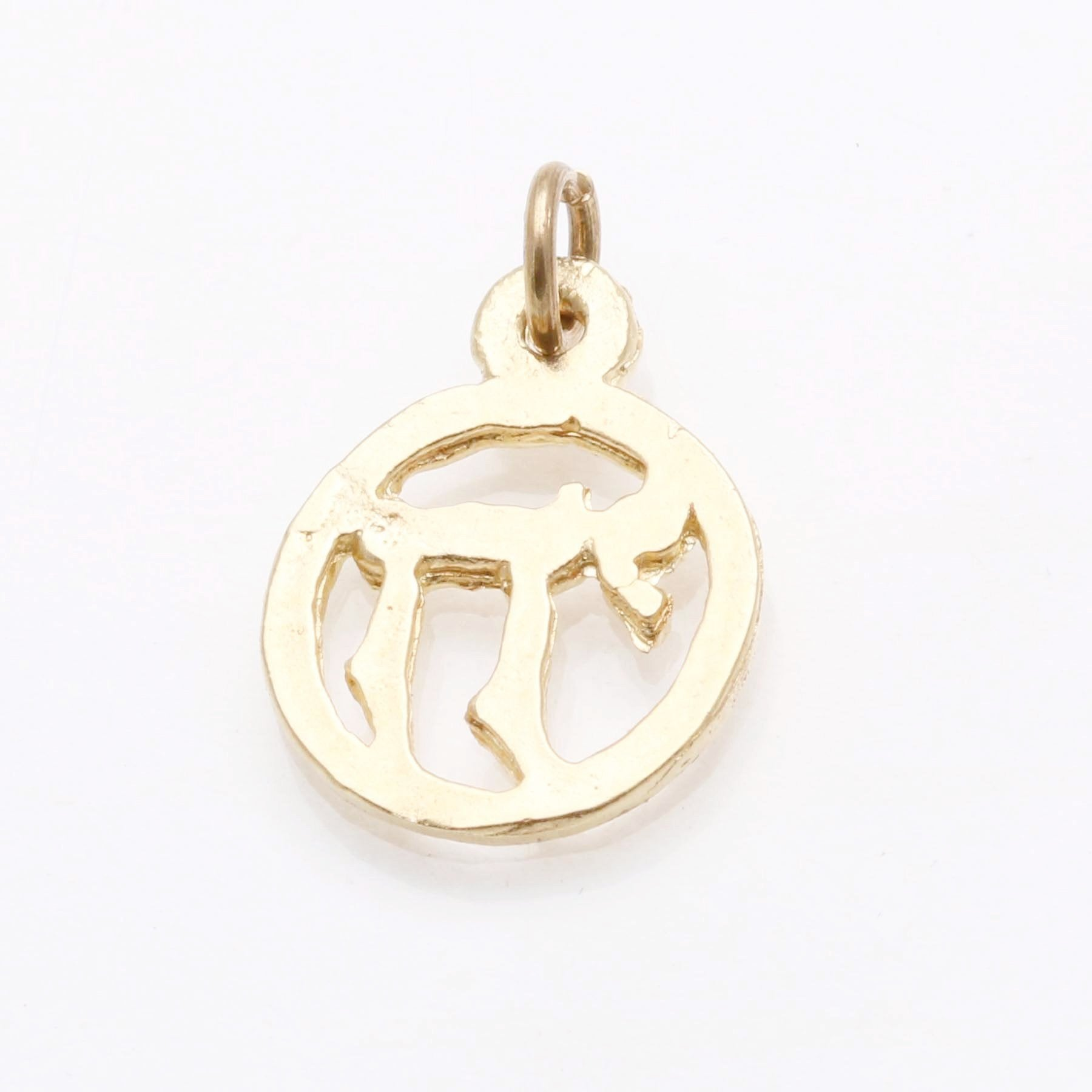 judaica necklace round kabbalah hebrew gold jewish dp charm gift chai jewelry israel pendant jewellery workshops or british