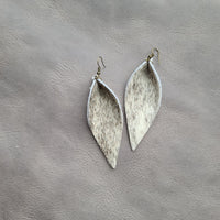 XL Petal Hide Earrings #7