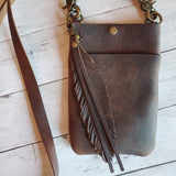 Trixie Crossbody Bag - Brown