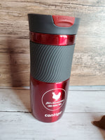 Drink Tumbler with Jill's Homestead logo